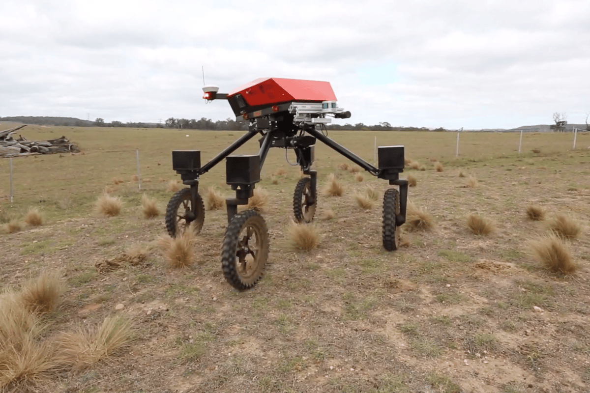 The SwagBot autonomous farm robot has received enough funding to commercialize it by 2020