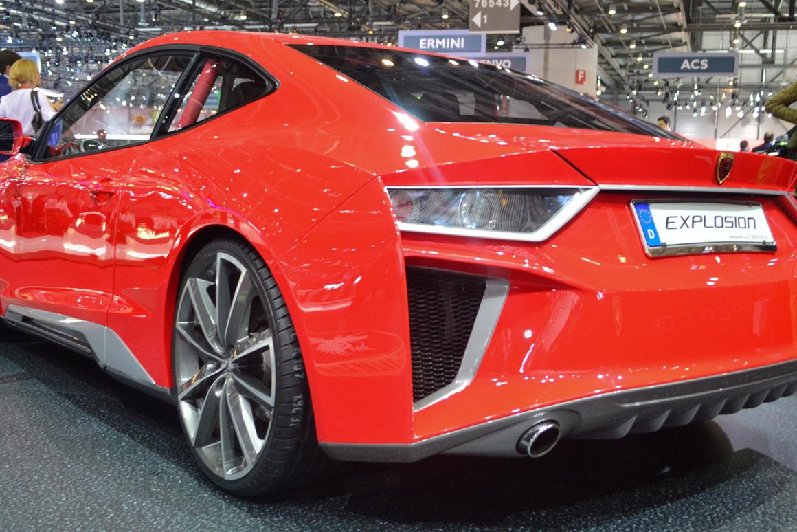 Gumpert debuted the Explosion at the 2014 Geneva Motor Show