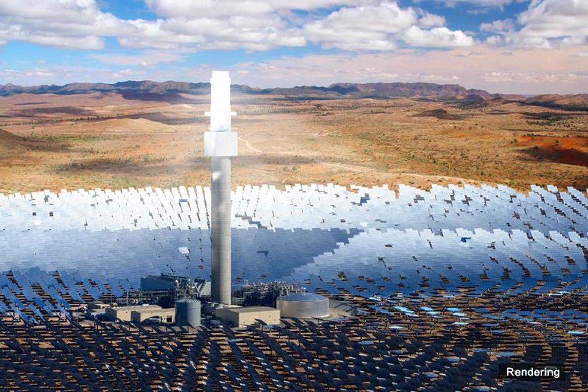 South Australia is set to build the largest single-tower solar thermal power station in the world