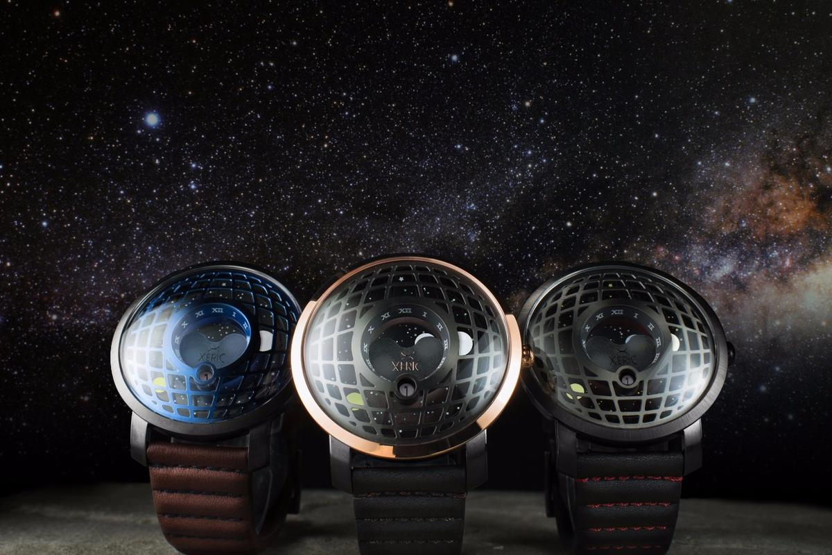 The Trappist-1 Moonphase was inspired by the Trappist-1 exoplanetary system