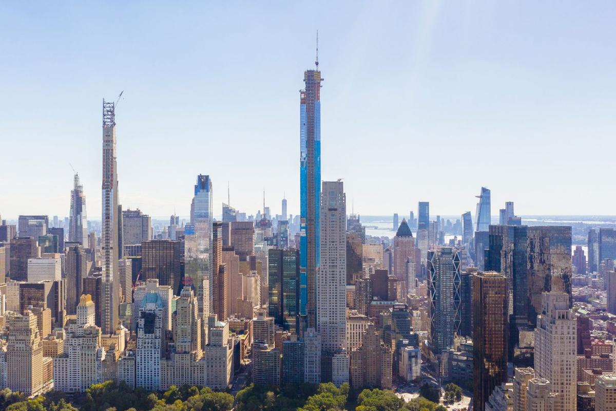 Central Park Tower, by Adrian Smith and Gordon Gill, was the tallest building completed in 2020 and was one of the few highlights in a disappointing year for skyscraper construction according to CTBUH's annual Year in Review