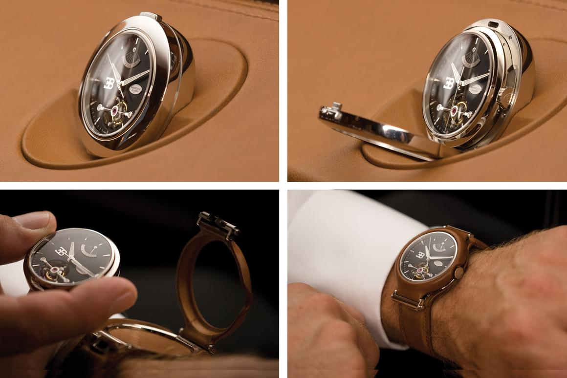 There are many exclusive, very expensive wristwatches, but none that do this