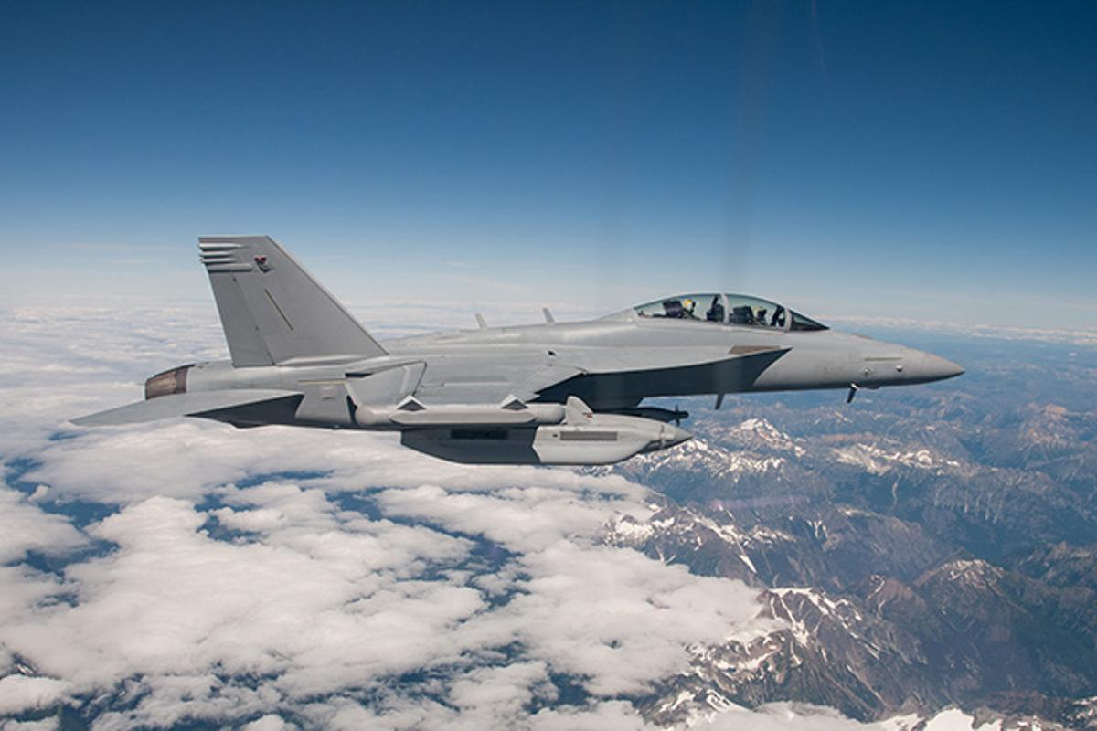 Two EA-18G Growlers recently flew autonomously with a third acting as mission controller