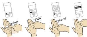 Imaginary phone concept from the Hasso Plattner Institute