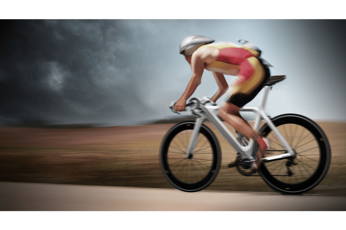 The 4StrikeBike concept would see riders pedaling with both their legs and arms, for a more complete workout and greater power