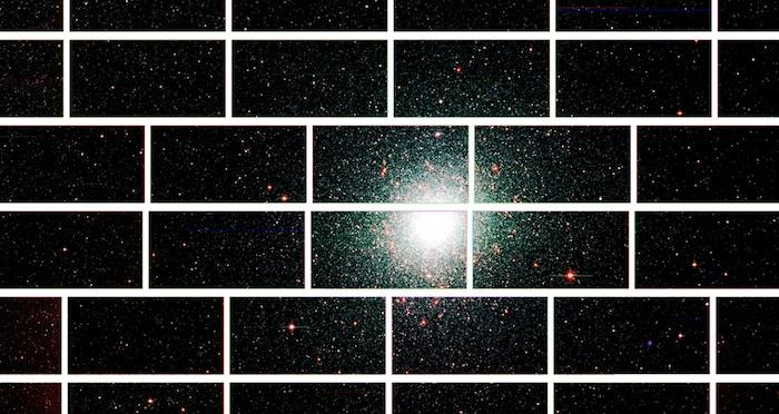 Zoomed-in image of the center of the globular star cluster 47 Tucanae, around 17,000 light years from Earth (Image: Dark Energy Survey Collaboration)