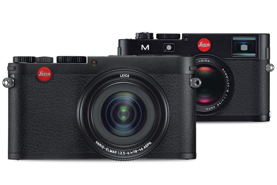 The Leica X Vario has a magnesium body with the same sort of machined solid aluminum top plate as the Leica M it's modeled on
