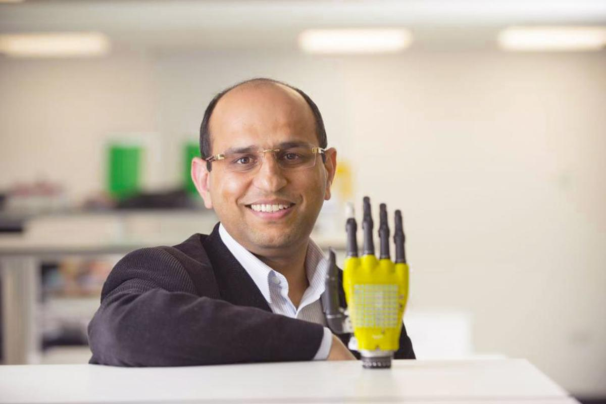 Next, Ravinder Dahiya will explore how some of the energy captured by the skin can be stored in batteries for later use