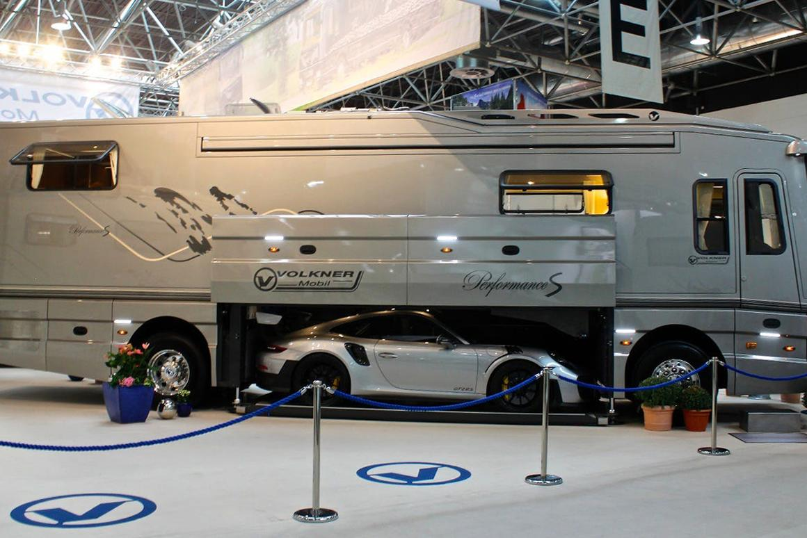 Gallery: Million-dollar motorhomes and classy caravans of