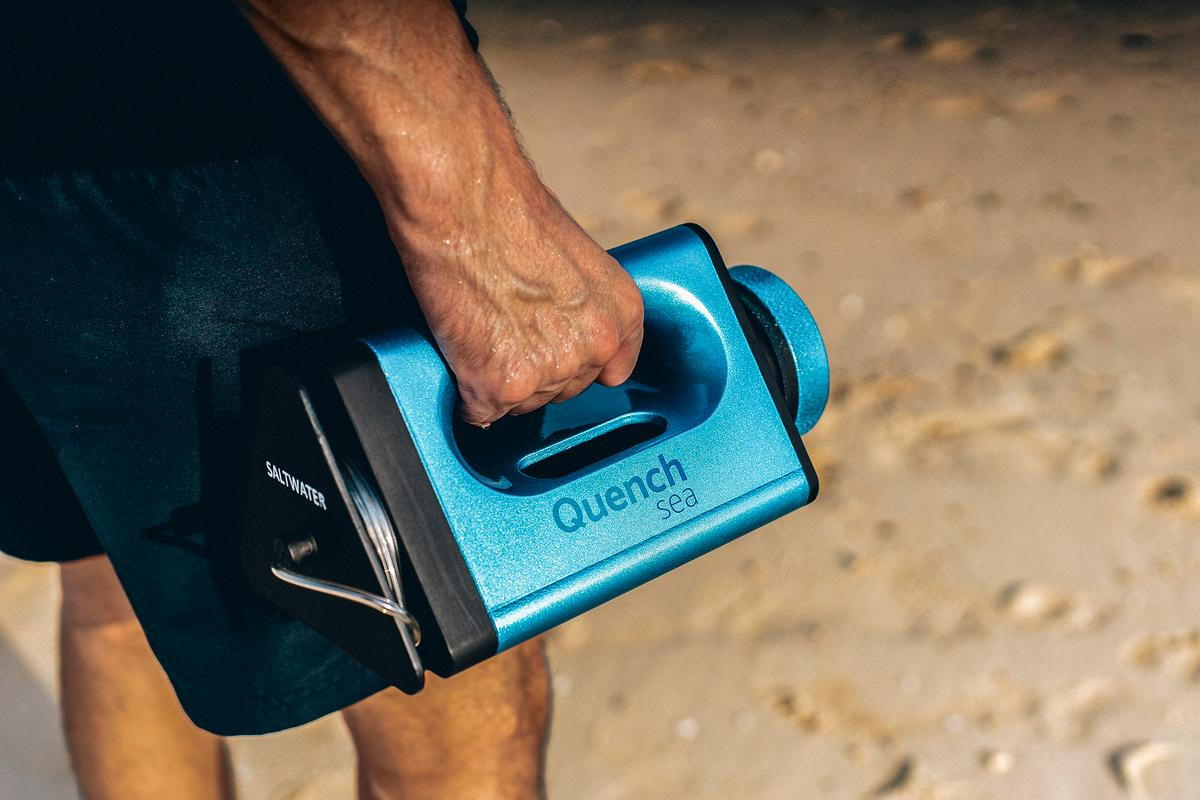 The QuenchSea is presently on Indiegogo