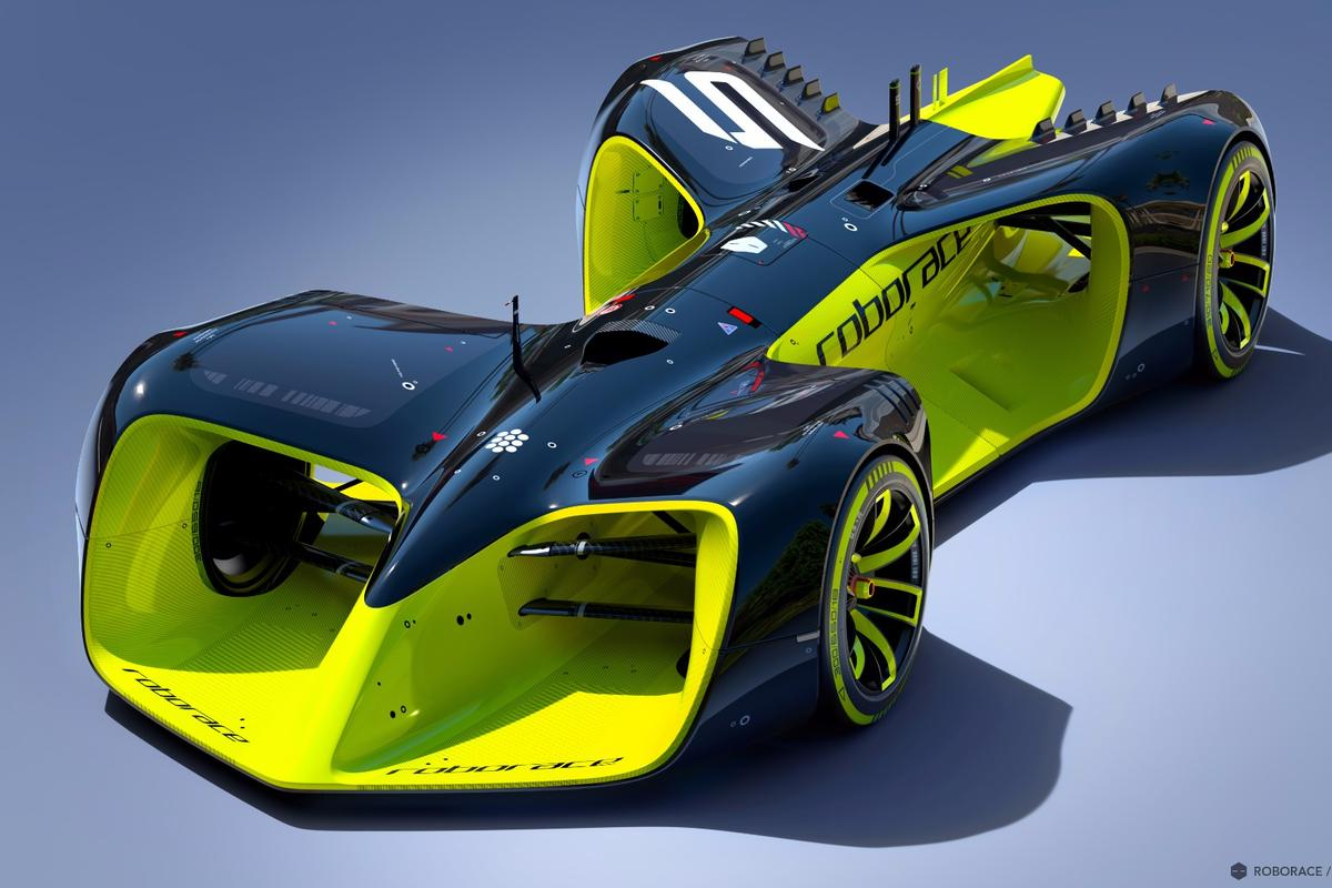 Roborace reveals its driverless race car concept
