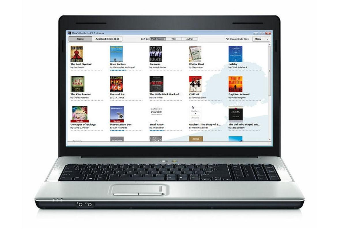 Download and read eBooks from Amazon's store on your PC