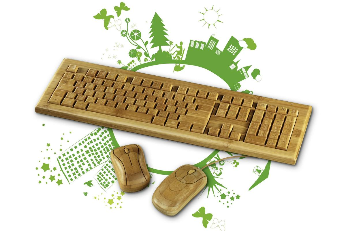Accessory specialist Hama has added a new bamboo keyboard and mouse (both wired and wireless) to its EcoLine range