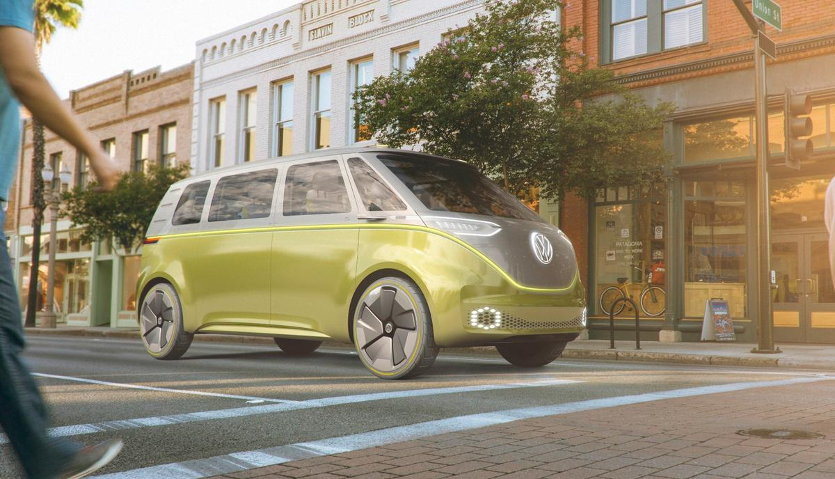 Volkswagen I.D. Buzz: multifunction electric people carrier points the way forward for VW