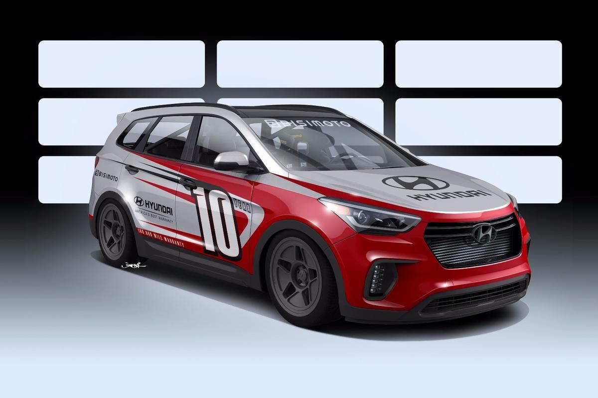 The Hyundai Santa Fast will be on show at SEMA