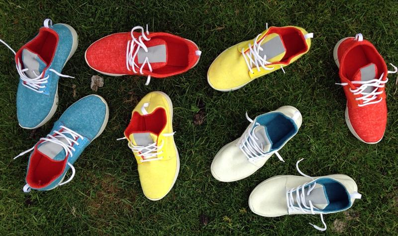 Three Over Seven manufactures woolen shoes and plans to use 3D scanning and printing to customize the shoes for wearers