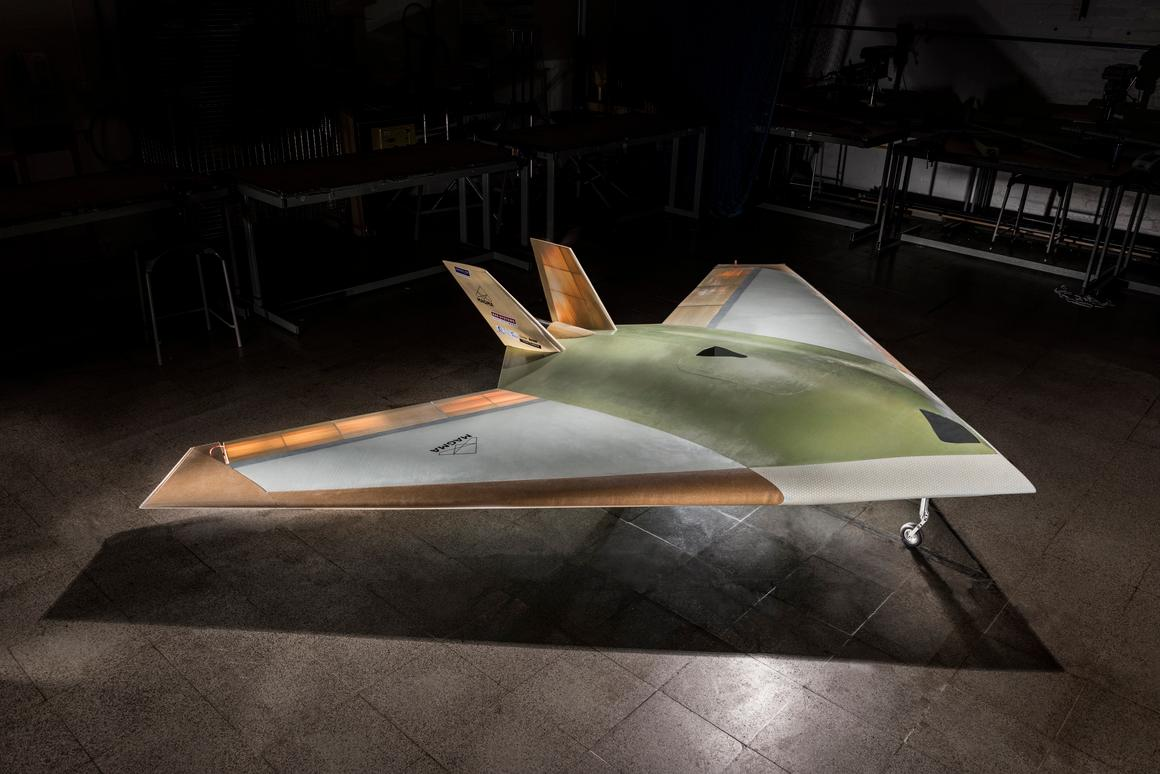 The MAGMA UAV has already completed the first phase of flight testing