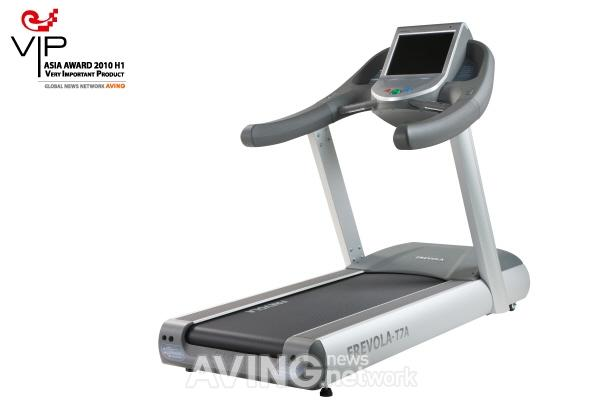 Frevola T7A treadmill is designed to keep you motivated and amused while working out