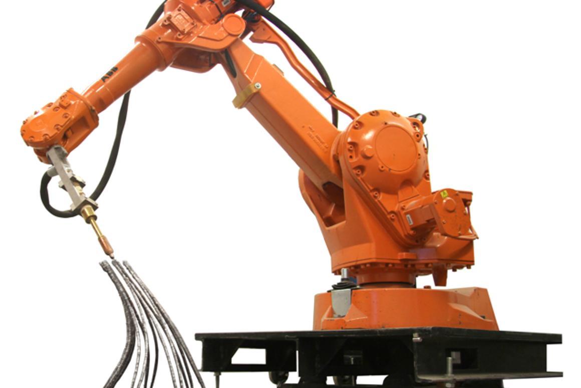 Joris Laarman has created a metal 3D printing robot