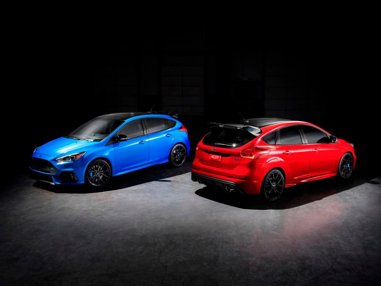 Race Red is being offered on the Focus RS for the first time