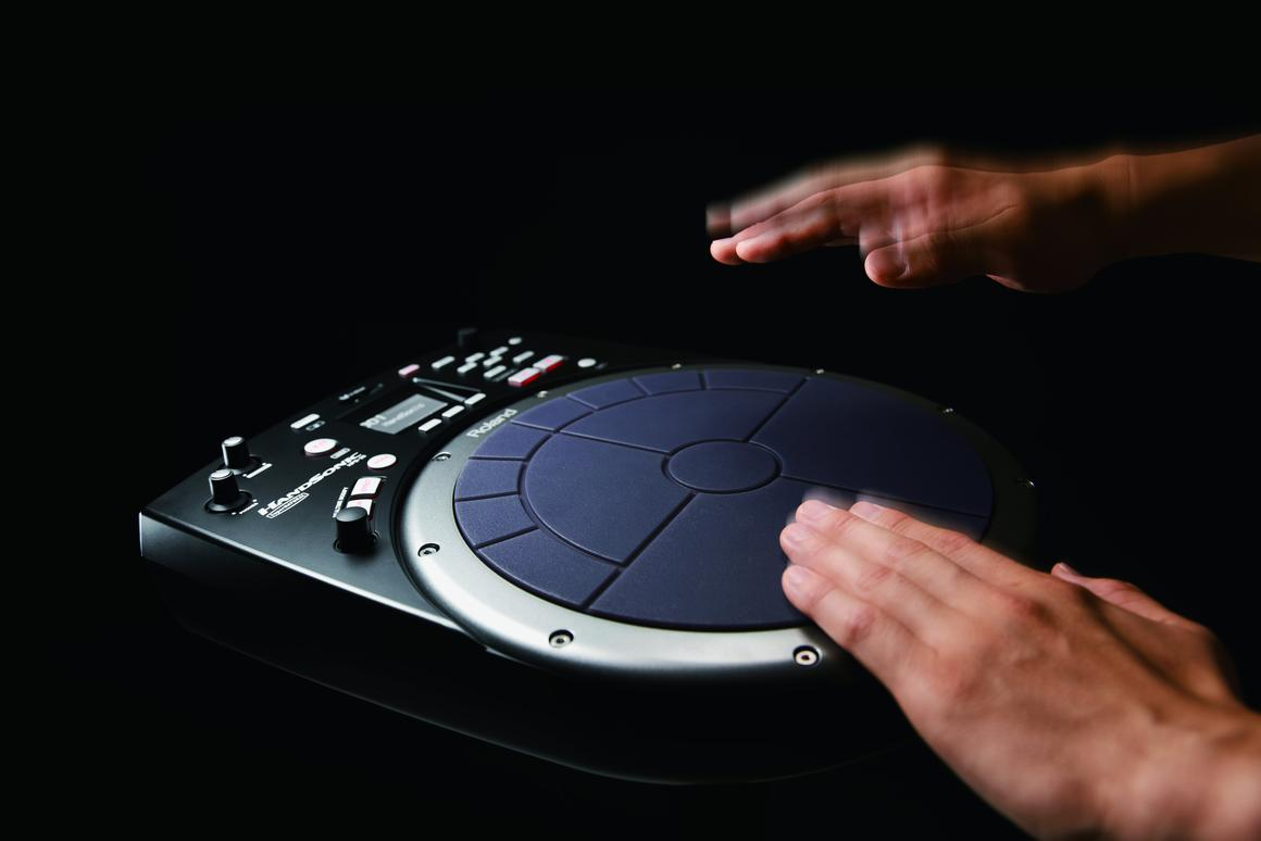Roland releases HandSonic HPD-20 digital hand percussion