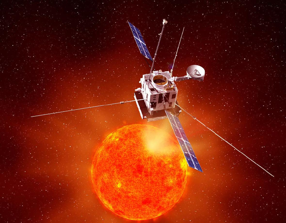 Solar Orbiter will venture closer to the Sun than any previous mission (Image: ESA)