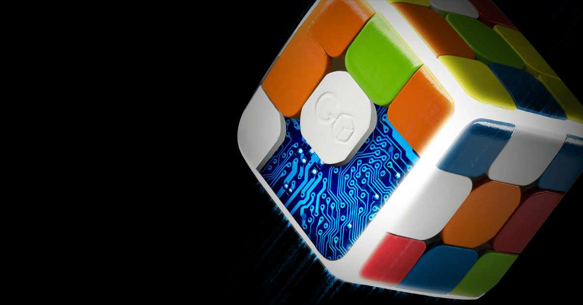 Festooned with sensors, the GoCube knows its orientation and puzzle status at all times