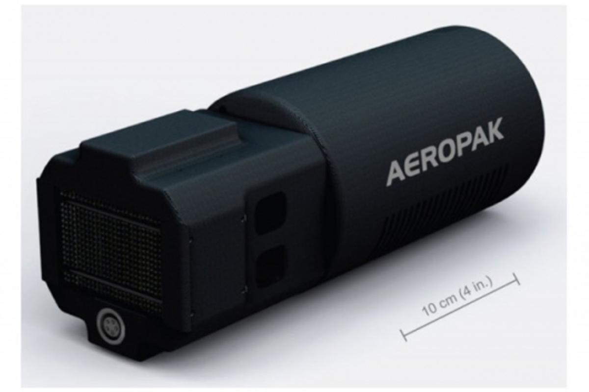 Aeropak fuel cell provides four times the power of advanced lithium batteries