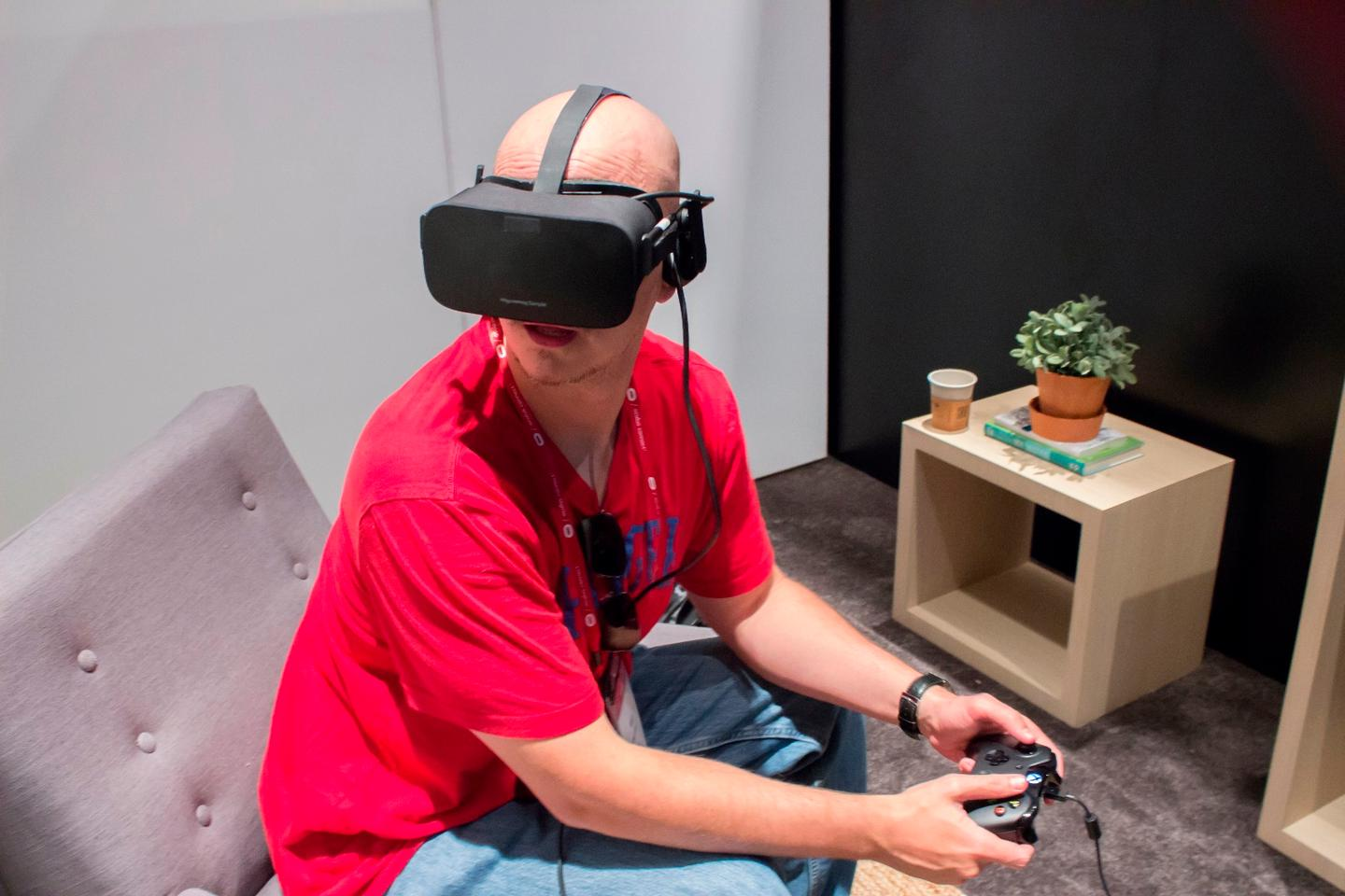 The Oculus Rift ships in March for $599
