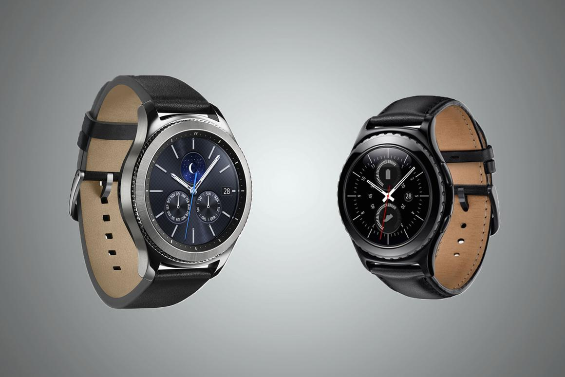 Comparing the 2016SamsungGear S3 watches with the 2015 Gear S2 watches
