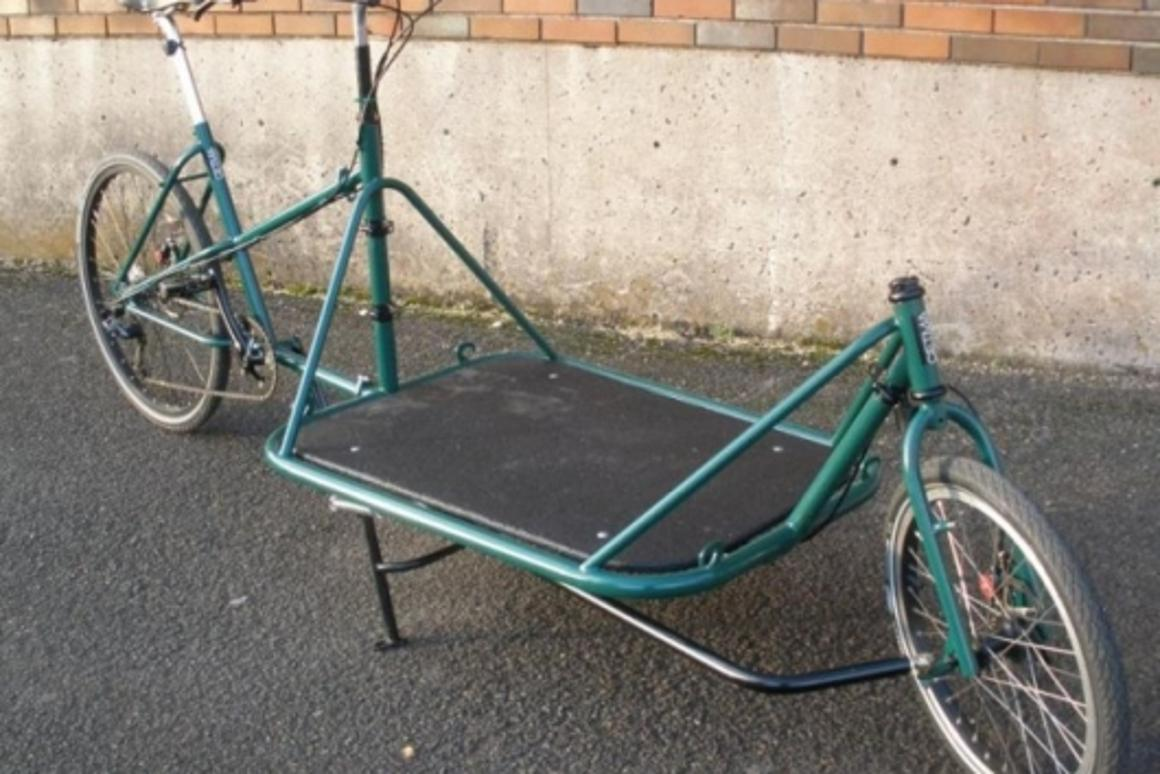 Load up: the Cetma cargo bike is handmade and built to order