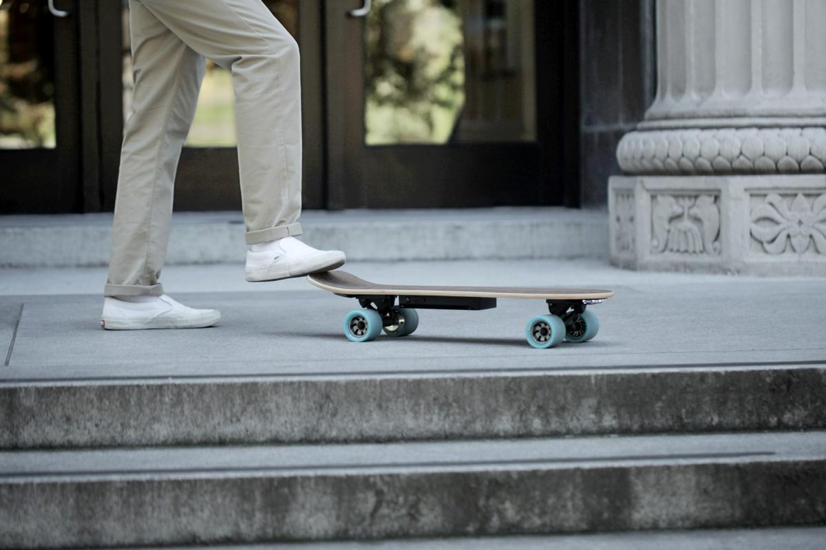 Huger Tech is taking on Boosted Boards and Evolve with its trio of electric skateboards