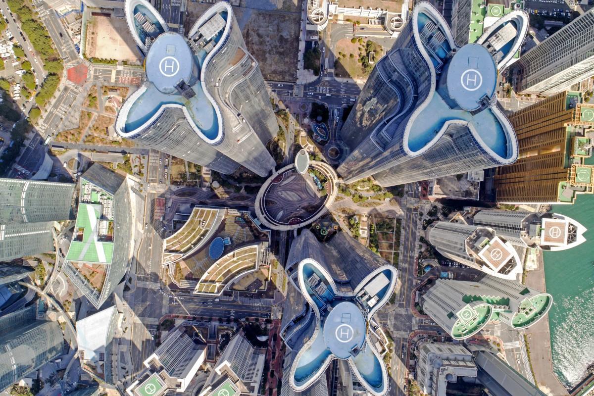 Marine City, Haeundae, Busan, South Korea