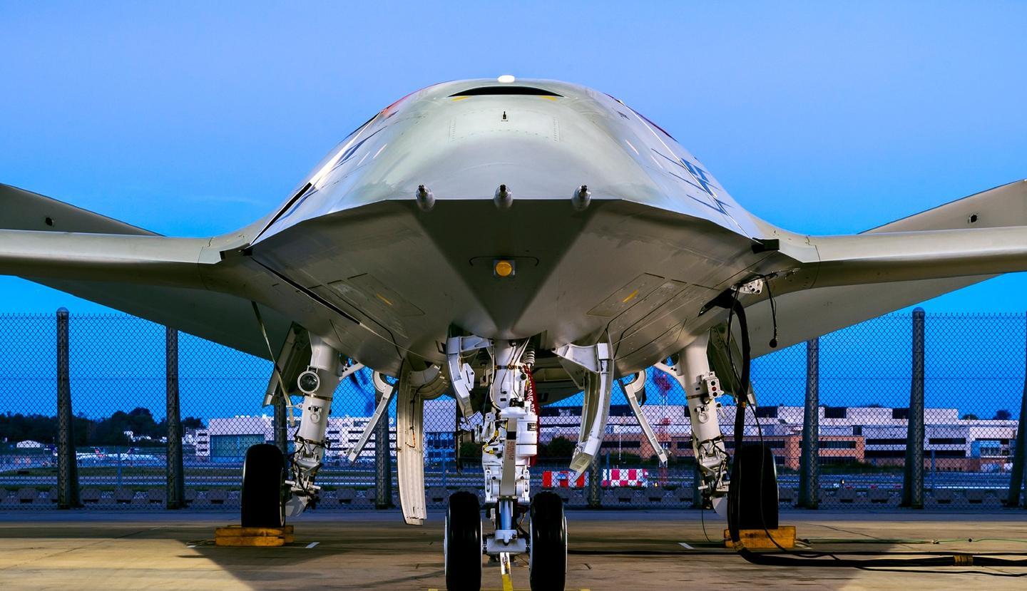 Boeing's MQ-25 unmanned aircraft system is completing engine runs before heading to the flight ramp for deck handling demonstrations next year