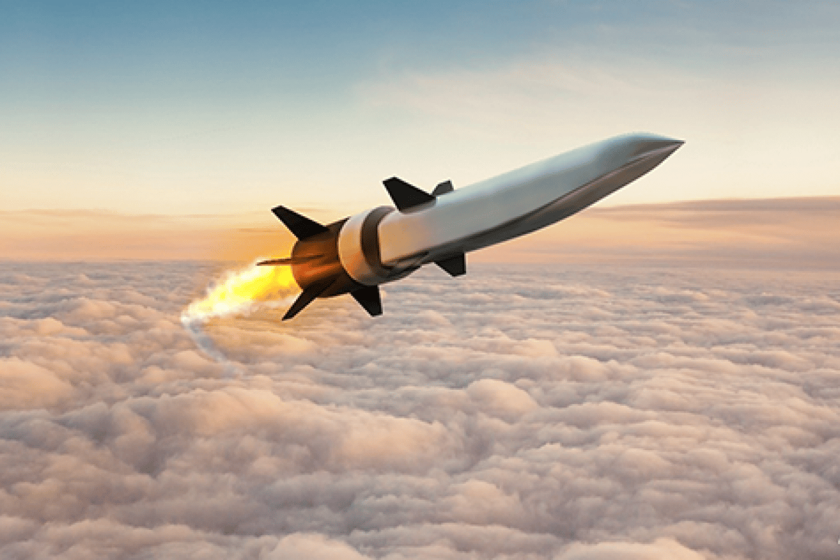 Artist's concept of a scramjet-powered Hypersonic Air-breathing Weapon Concept, or HAWC