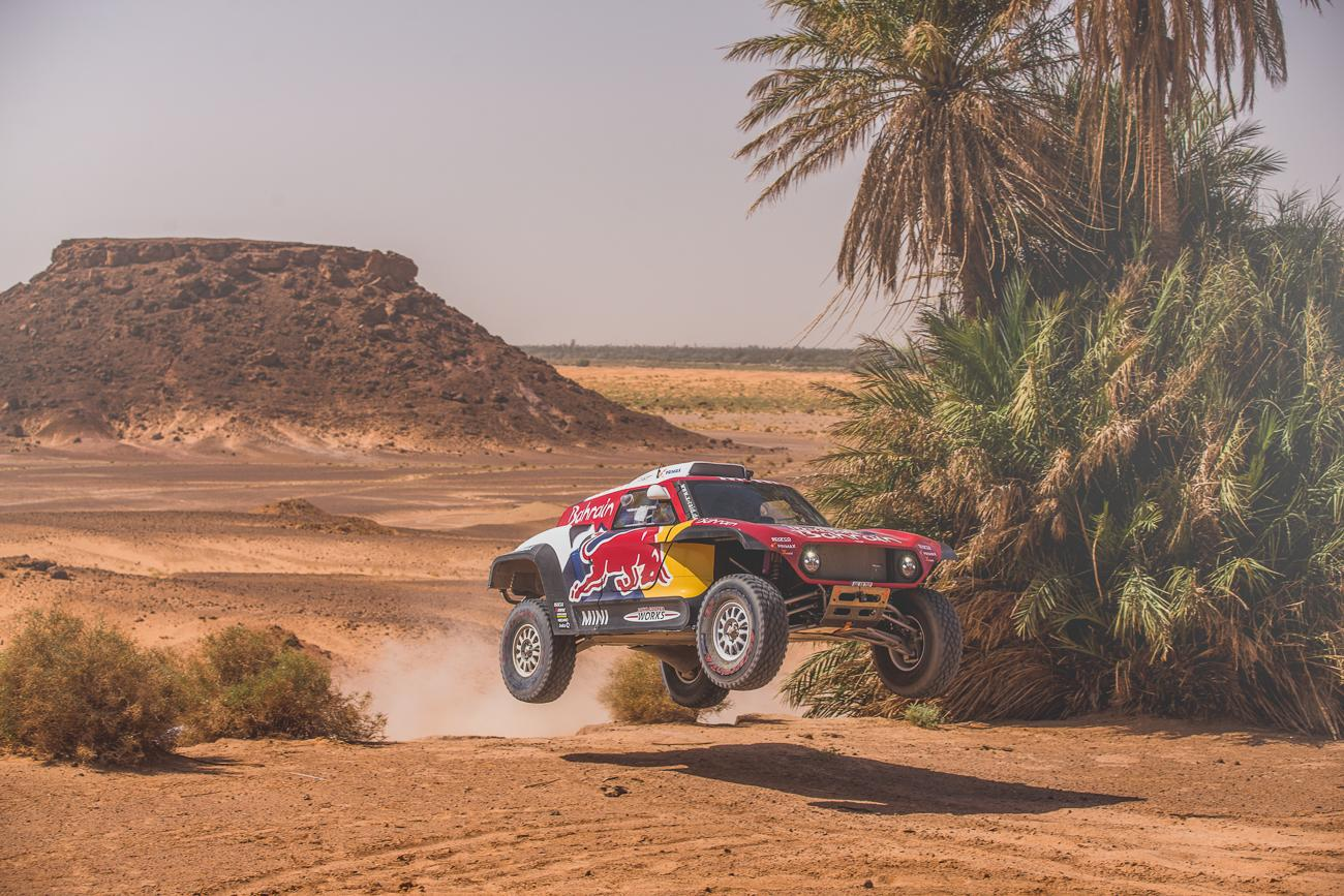 The X-raid MINI JCW Buggy in action