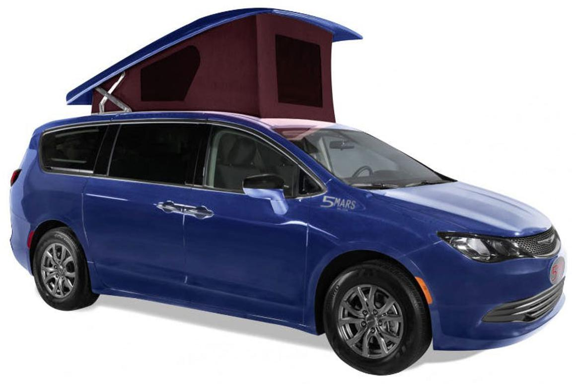 Chrysler Pacifica Van >> 5 Mars Makes A Colorful Efficient Mini Campervan Out Of The