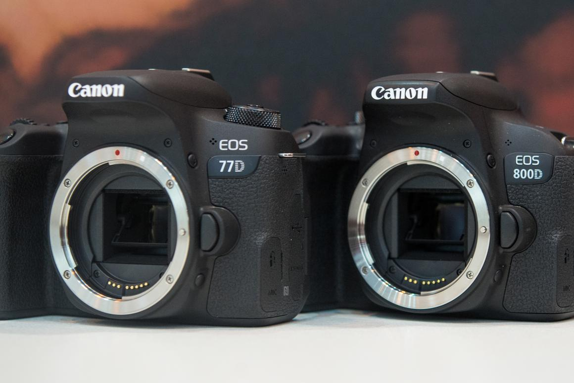 Hands-on: Looking at the differences between Canon's new mid
