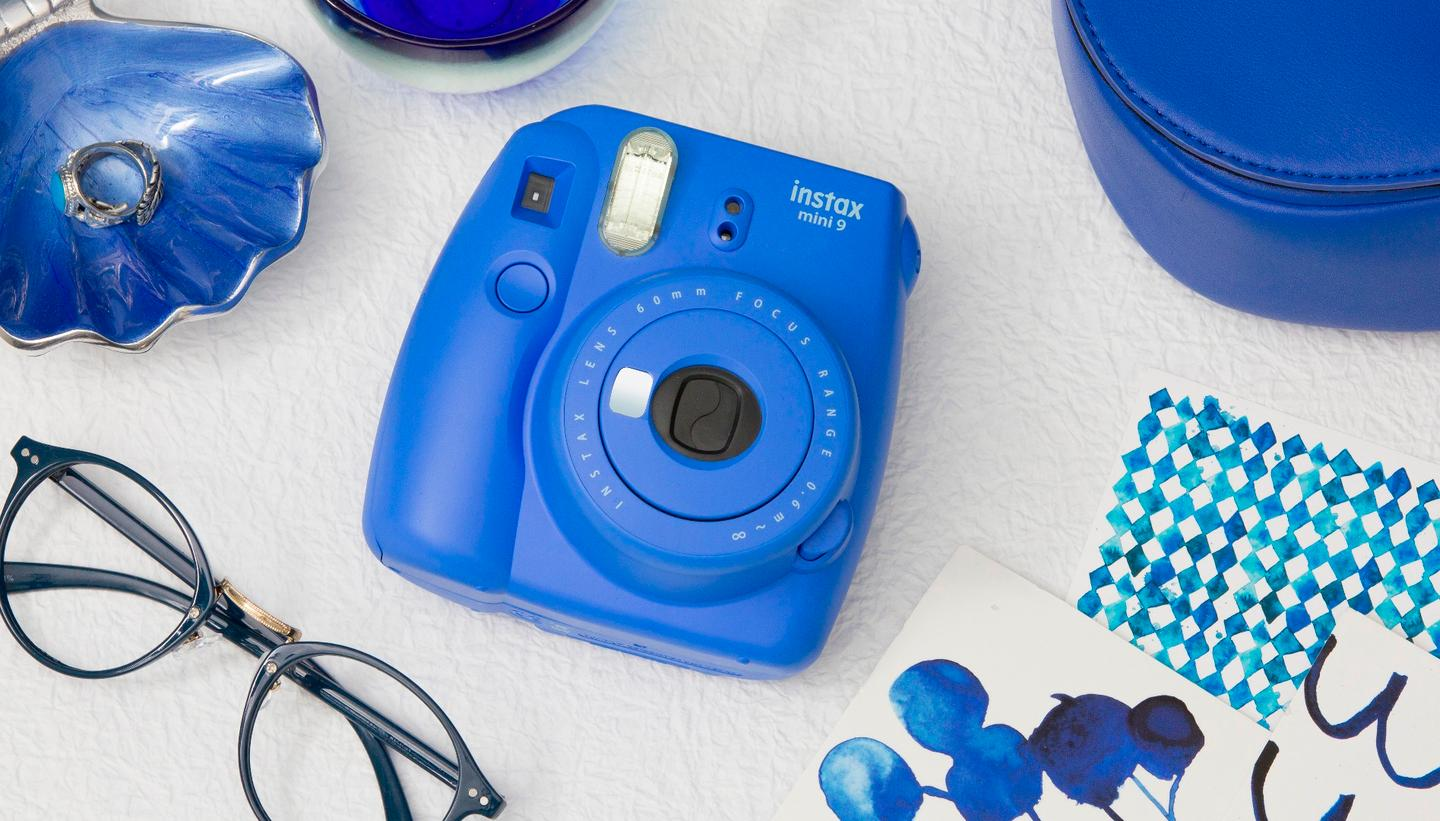 The Instax Mini 9 is the latest instant camera from Fujifilm