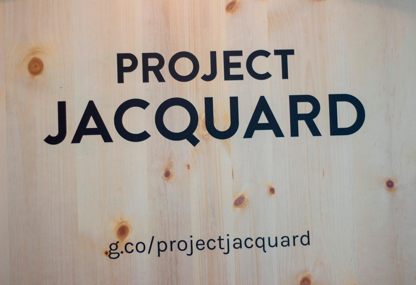 We're welcomed to Google's Project Jacquard demo at Google I/O 2015