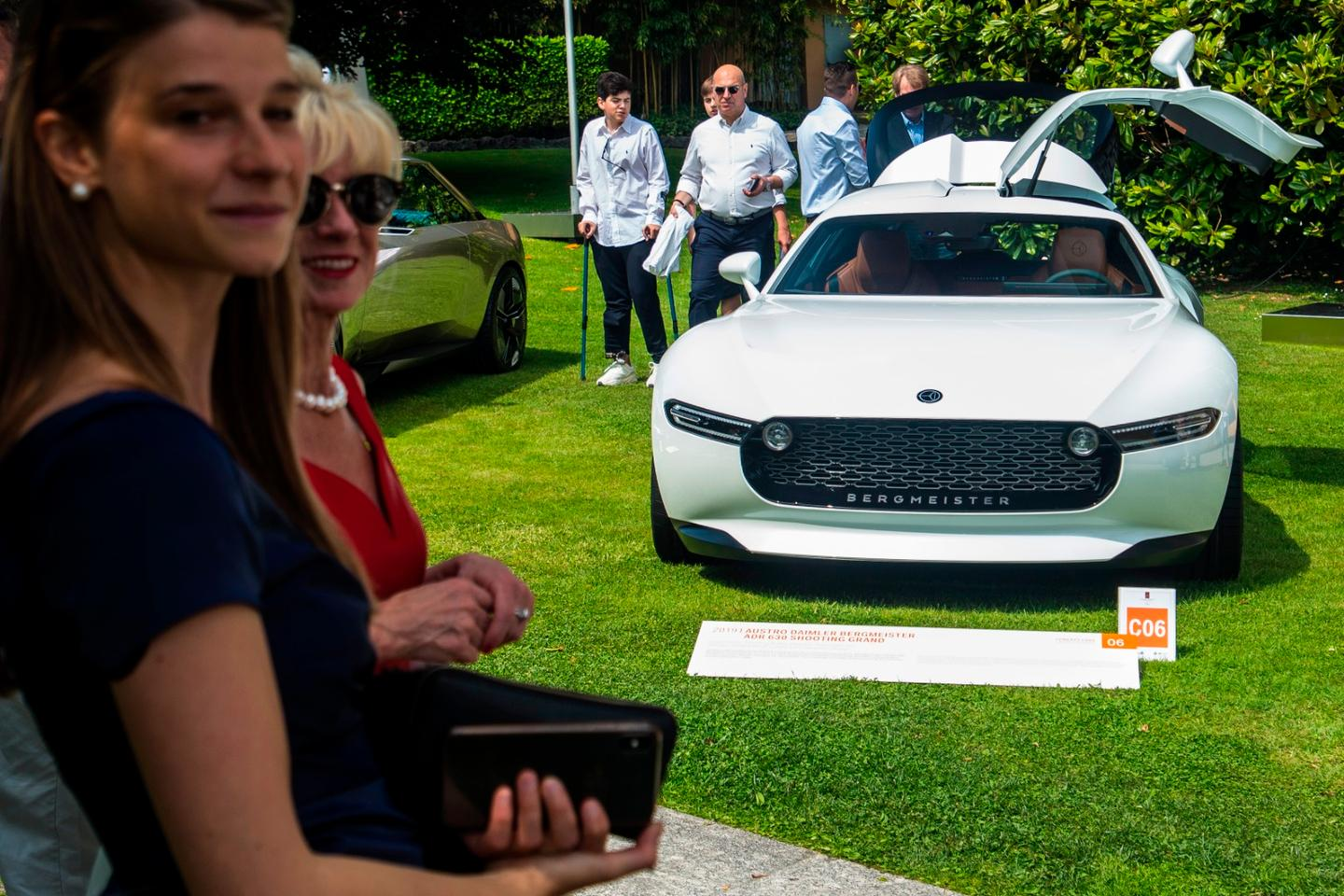 Bergmeister ADR 630: Presented at this year's Concours d'Eleganza Villa d'Este