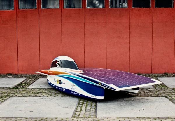 Nuon Team's winning Nuna 7 (Photo: World Solar Challenge)