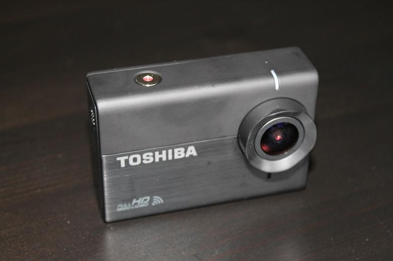 The Camileo X-Sports is an HD sports camcorder from Toshiba