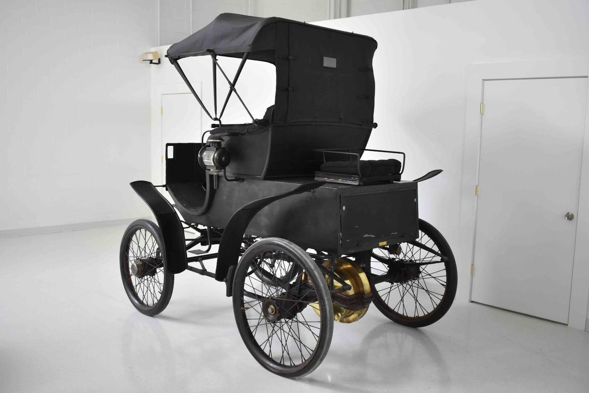 The original, unrestored, perfect-working-order 1898 Riker Electric