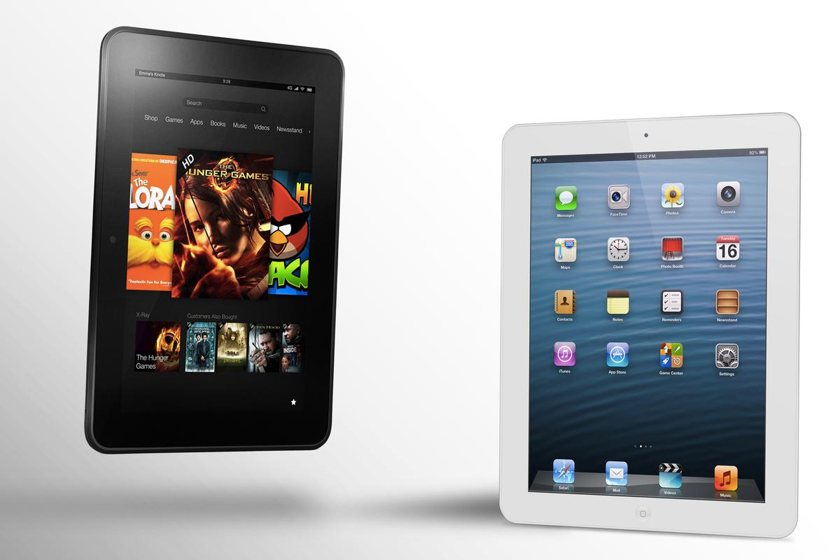 How does the Kindle Fire HD 8.9 compare to the iPad?