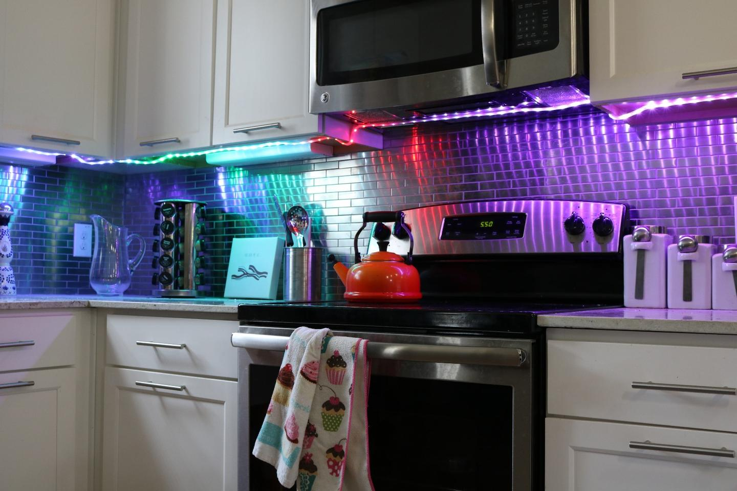 TheIlumi Smartstrip sports60 individual LEDs for every 3.3 ft (1 m) of length