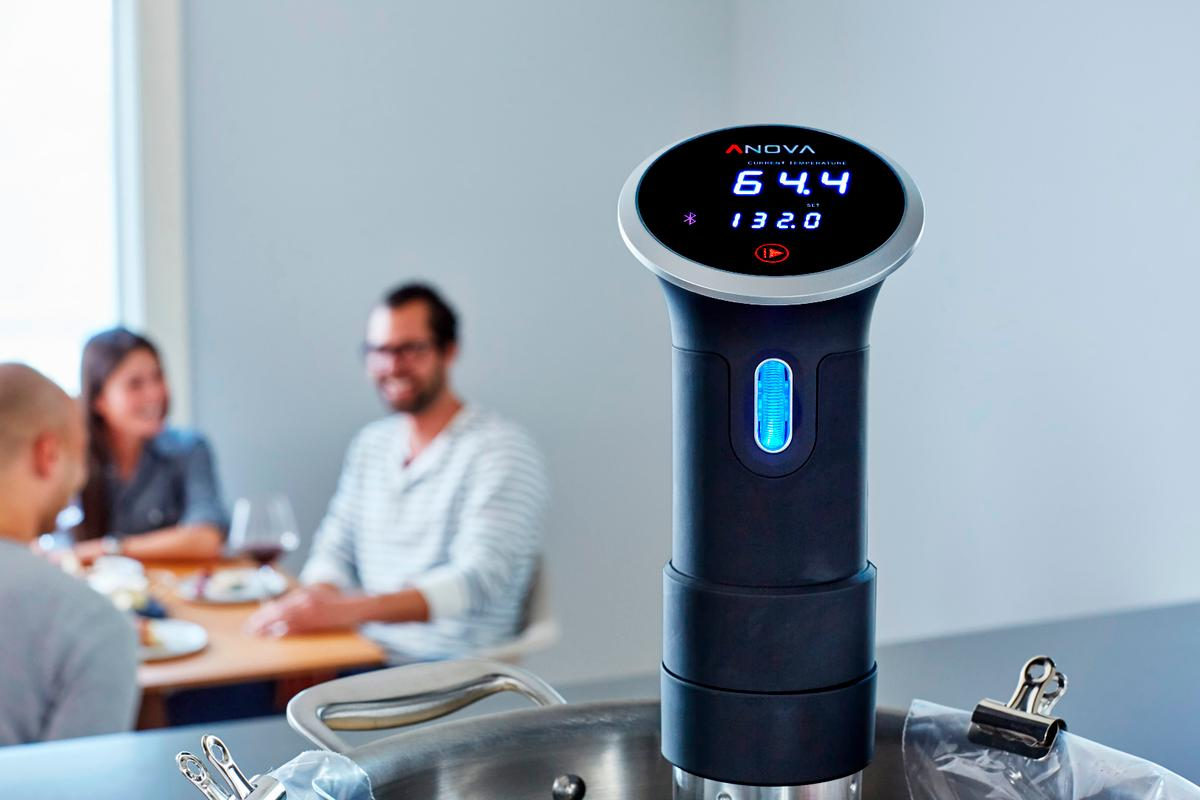 The latest sous vide device from Anova adds Wi-Fi to the recipe