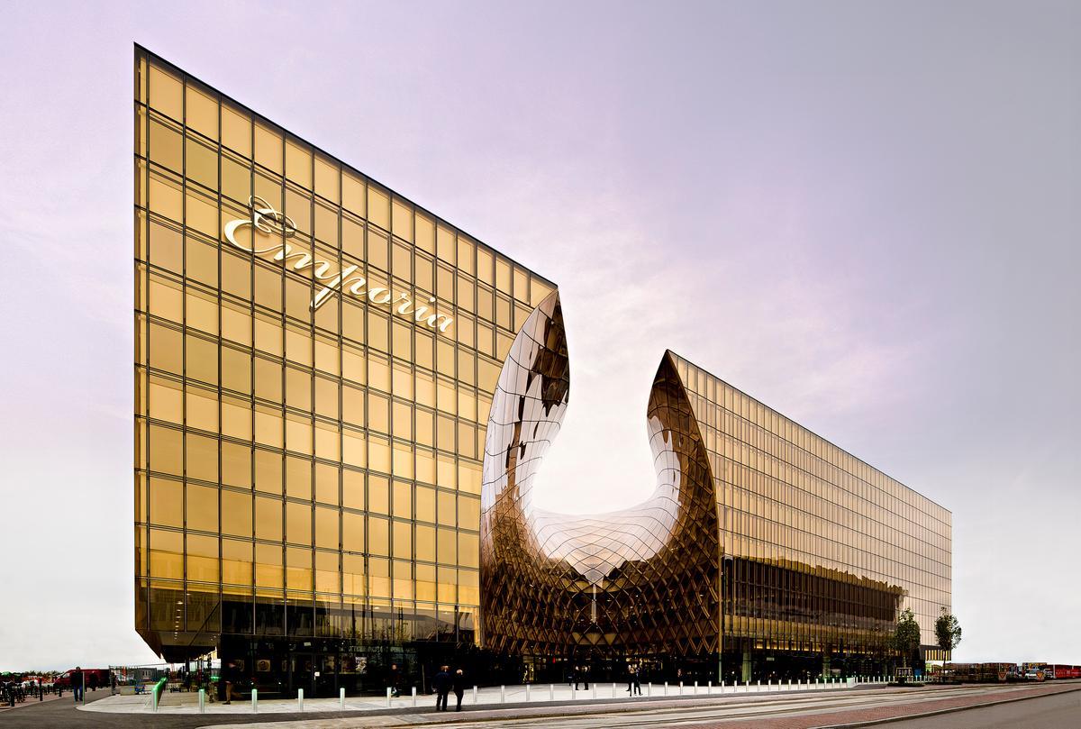 Emporia shopping center by Wingårdh Arkitektkontor