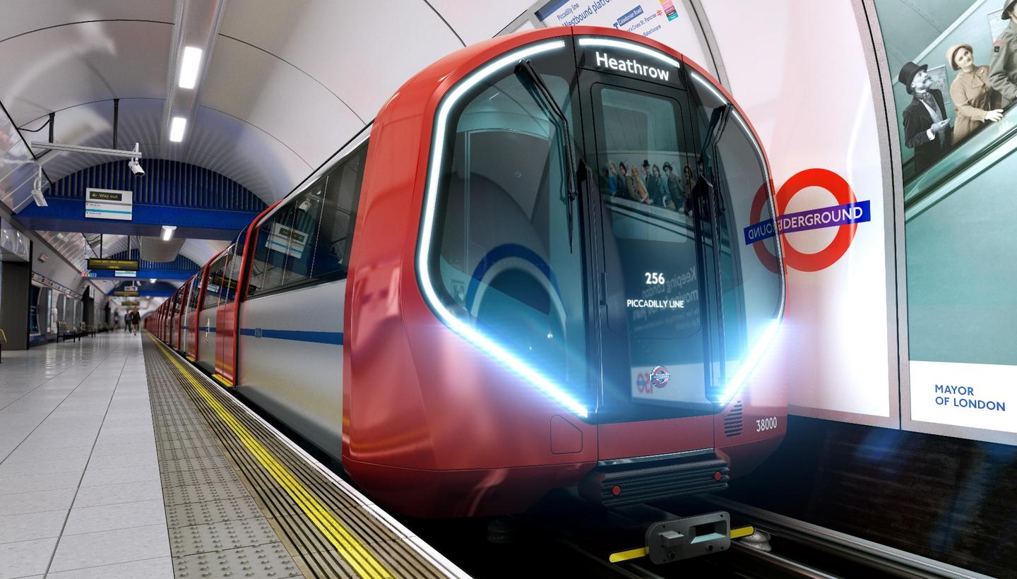 Future Underground rolling stock will include energy-saving technologies