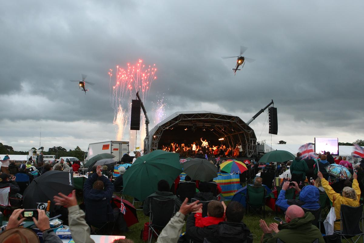 The Cholmondeley Pageant of Power drew big crowds who enjoyed three days of speed, power, aerobatics and music